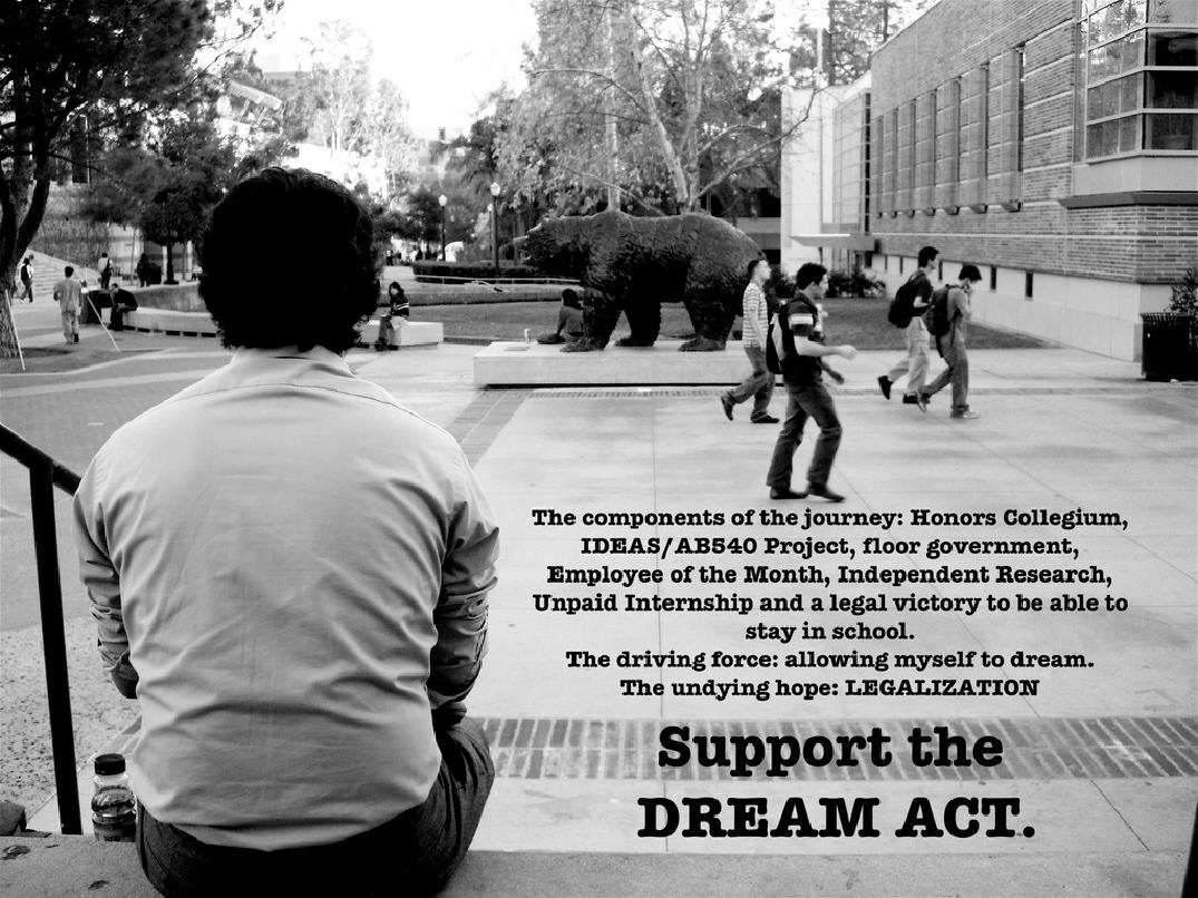 the dream act is it a The dream act of 2017 is a bipartisan bill that would provide a direct road to us citizenship for people who are either undocumented, have daca or temporary protected status (tps), and who graduate from us high schools and attend college, enter the workforce, or enlist in the military.