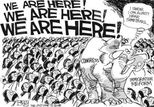 immigration reform cartoon